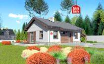Małe domy parterowe – ekonomiczne, eleganckie, ekspresowe.