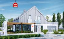 Projekty domów z południową ekspozycją salonu