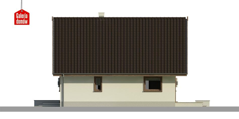 Dom przy Cytrynowej 3 - elewacja prawa