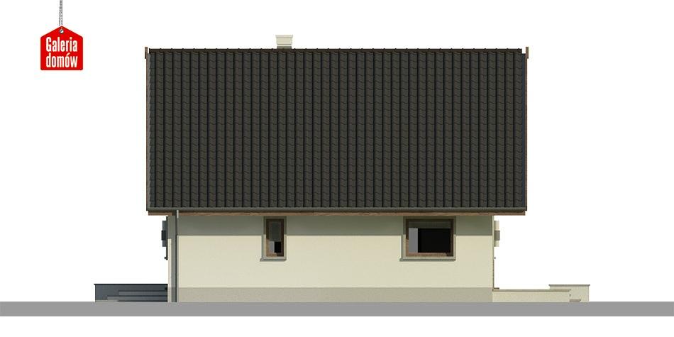 Dom przy Cytrynowej 4 - elewacja prawa