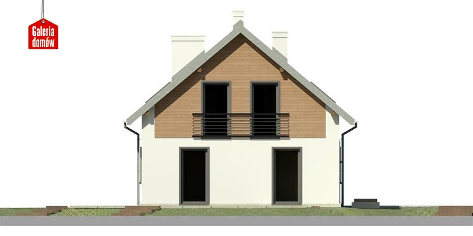Dom przy Głogowej 3 - elewacja frontowa