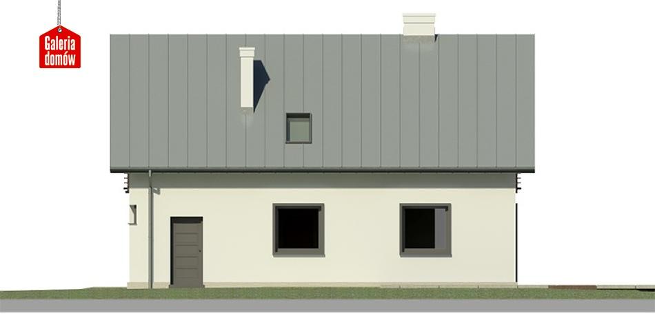 Dom przy Głogowej 3 - elewacja lewa
