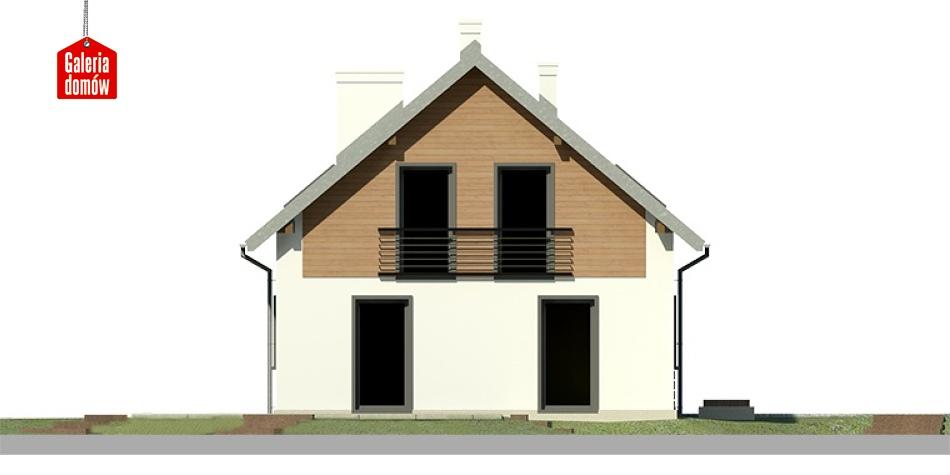 Dom przy Głogowej 4 - elewacja frontowa