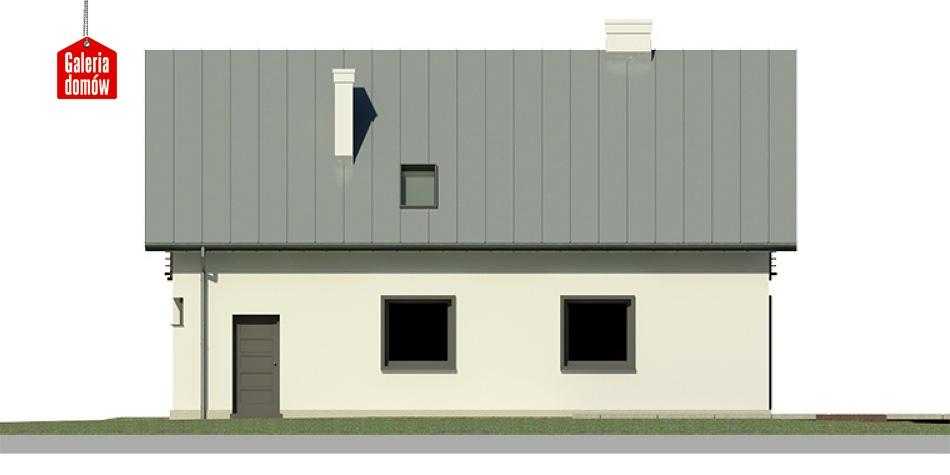 Dom przy Głogowej 4 - elewacja lewa