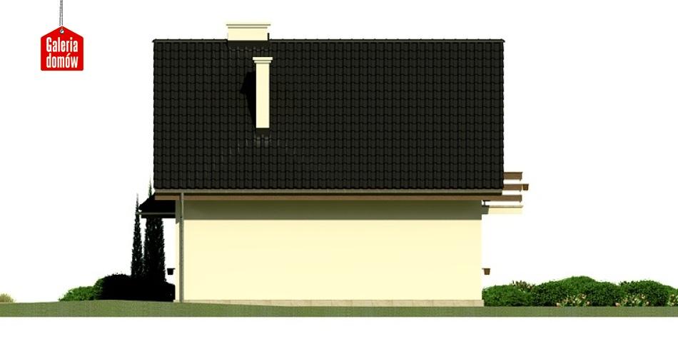 Dom przy Kalinowej 2 - elewacja tylna