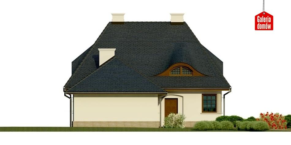 Dom przy Malowniczej - elewacja prawa