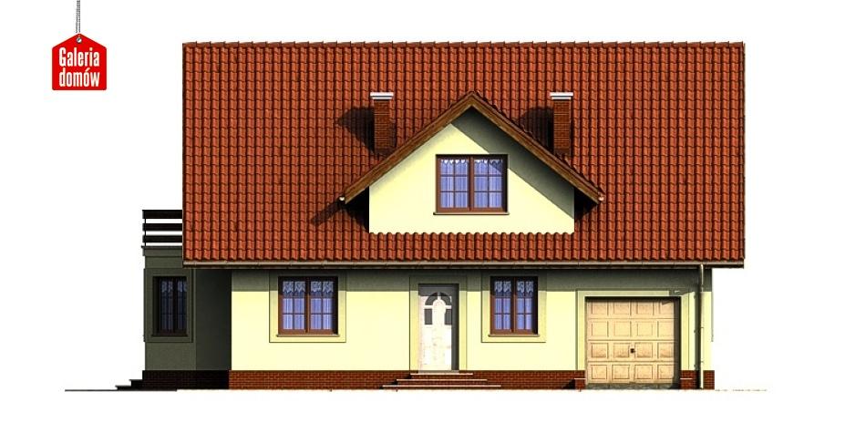 Dom przy Miodowej - elewacja prawa