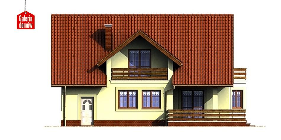 Dom przy Miodowej - elewacja lewa