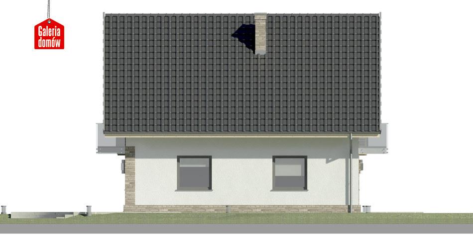 Dom przy Oliwkowej 5 NH - elewacja lewa