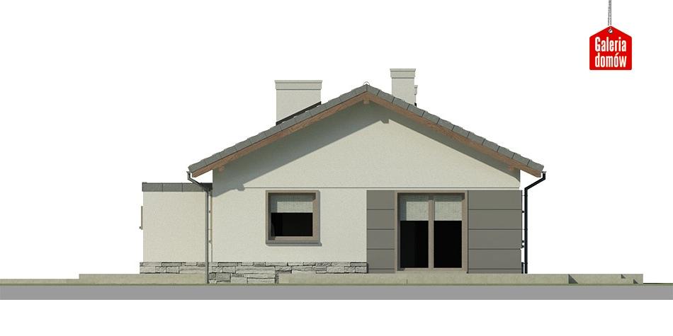 Dom przy Przyjemnej 10 bis - elewacja frontowa