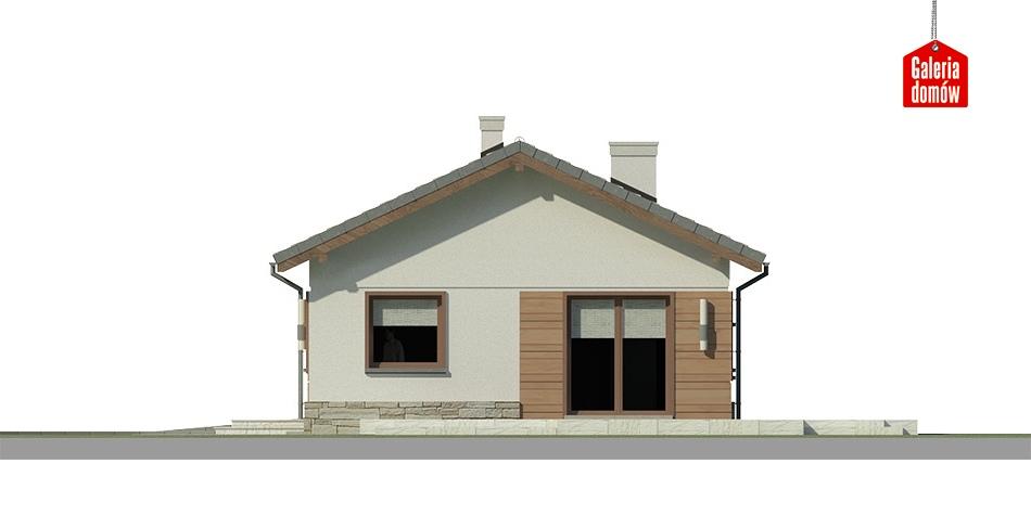 Dom przy Przyjemnej 11 bis - elewacja frontowa