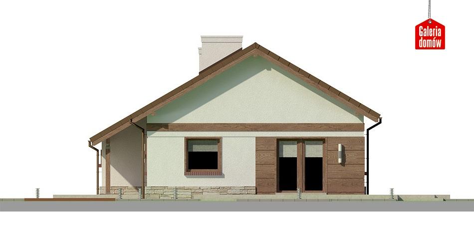 Dom przy Przyjemnej 12 bis - elewacja frontowa