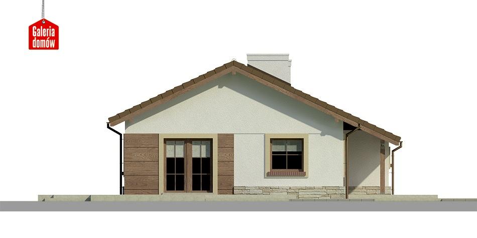 Dom przy Przyjemnej 12 - elewacja frontowa