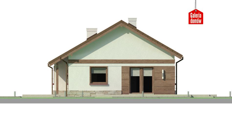Dom przy Przyjemnej 14 bis - elewacja frontowa