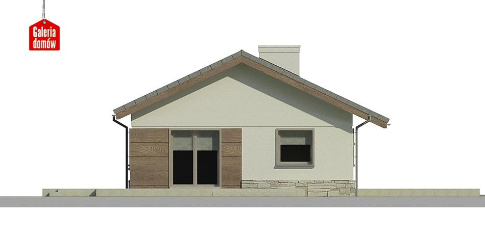 Dom przy Przyjemnej 2 bis - elewacja frontowa