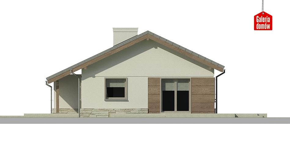 Dom przy Przyjemnej 3 bis - elewacja frontowa