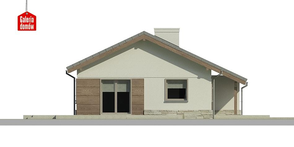Dom przy Przyjemnej 3 - elewacja frontowa