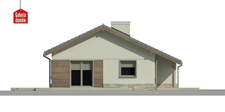 Dom przy Przyjemnej 4 bis - elewacja frontowa
