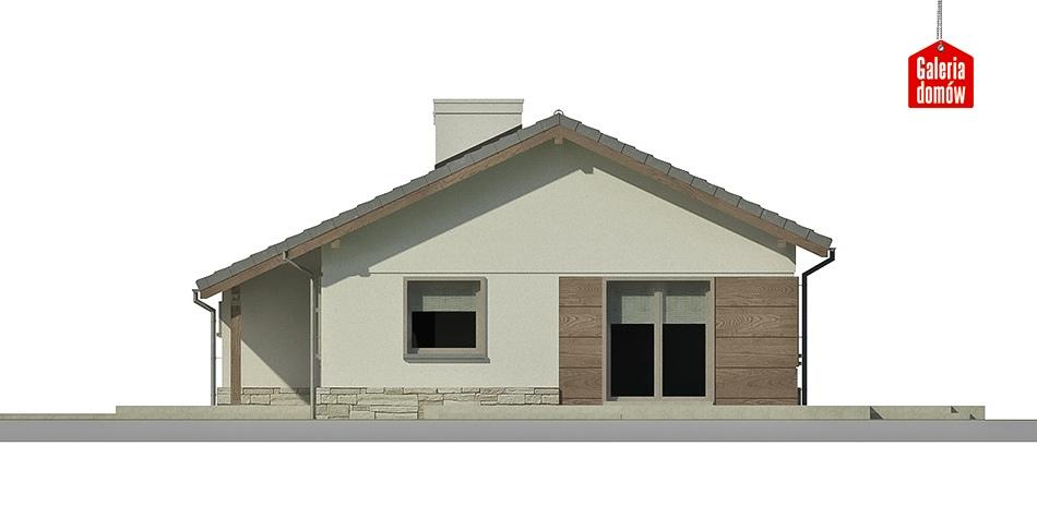 Dom przy Przyjemnej 5 bis - elewacja frontowa