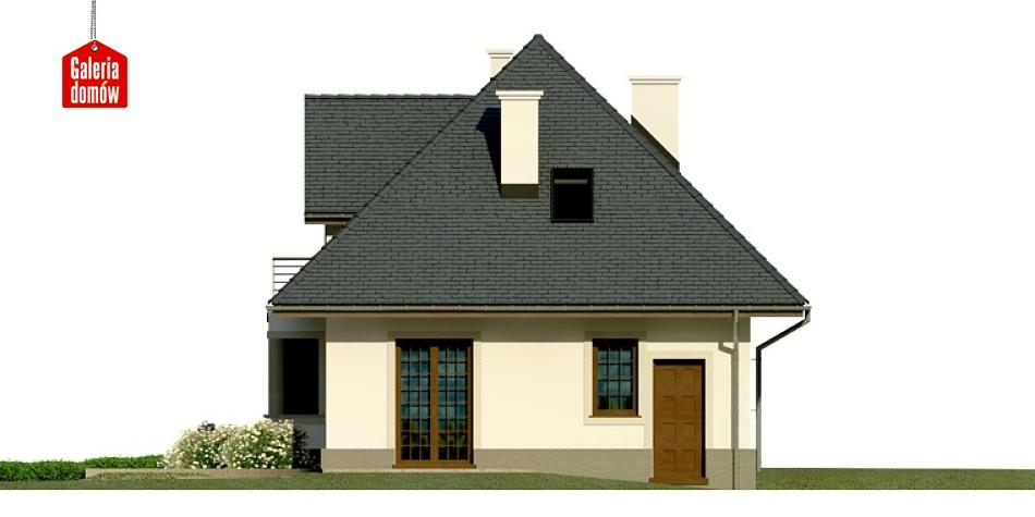 Dom przy Sielskiej 2 - elewacja tylna