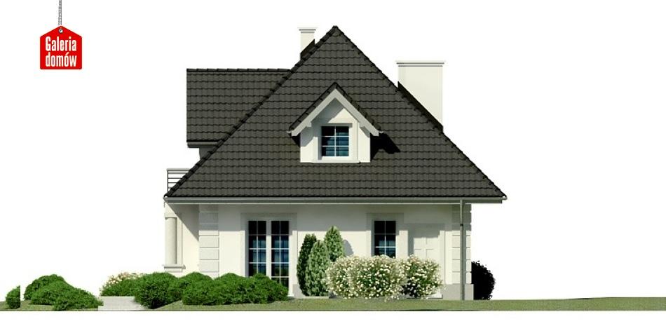 Dom przy Sielskiej 3 - elewacja tylna