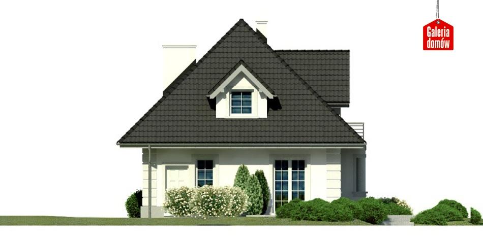 Dom przy Sielskiej 4 - elewacja tylna