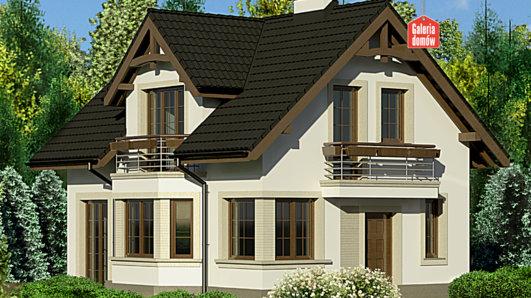 Projekt domu - Dom przy Waniliowej 2