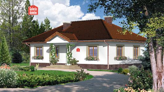 Projekt domu - Dom przy Klonowej