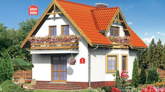 Projekt domu - Dom przy Jałowcowej
