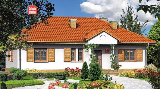 Projekt domu - Dom przy Bukowej