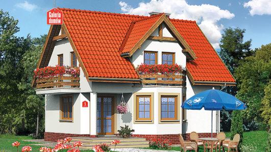 Projekt domu - Dom przy Kalinowej