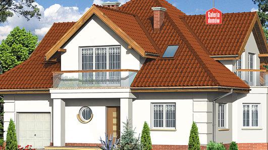 Projekt domu - Dom przy Szmaragdowej