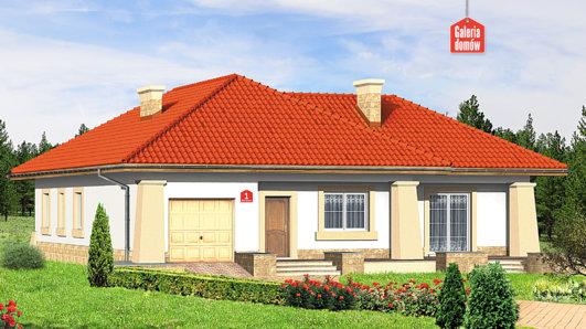 Projekt domu - Dom przy Baśniowej