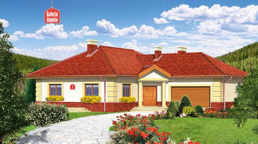 Projekt domu - Dom przy Romantycznej