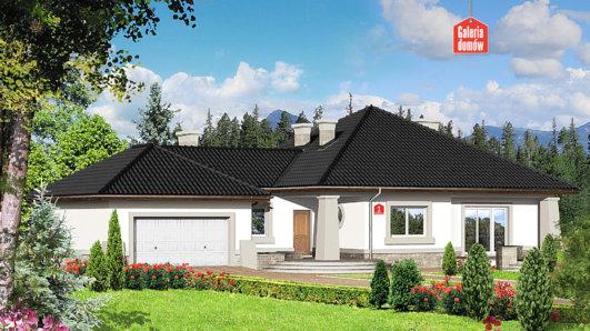 Projekt domu - Dom przy Makowej