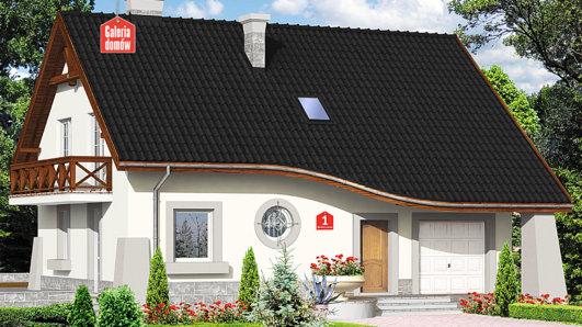 Projekt domu - Dom przy Berberysowej