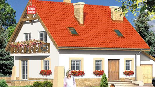 Projekt domu - Dom przy Maciejkowej