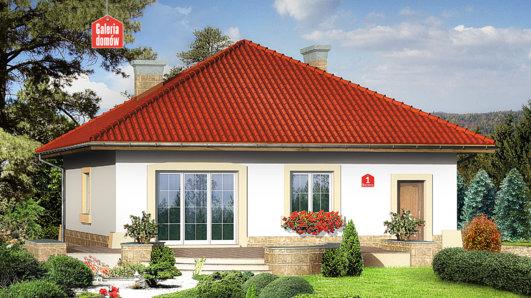 Projekt domu - Dom przy Barwnej