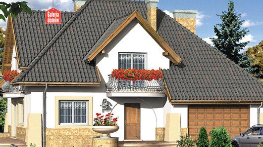 Projekt domu - Dom przy Słonecznikowej
