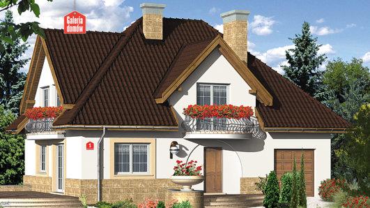 Projekt domu - Dom przy Bukszpanowej