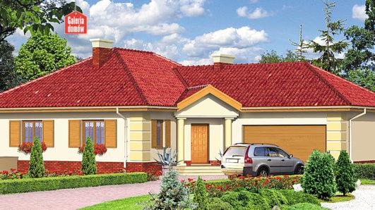 Projekt domu - Dom przy Jaśminowej