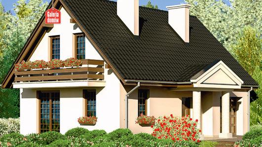 Projekt domu - Dom przy Polnej