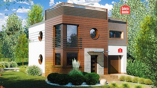 Projekt domu - Dom przy Miedzianej