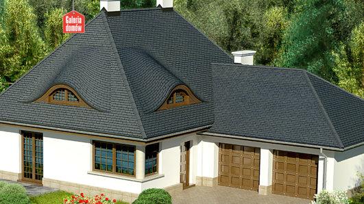 Projekt domu - Dom przy Malowniczej