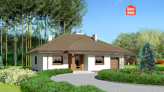 Projekt domu - Dom przy Sadowej