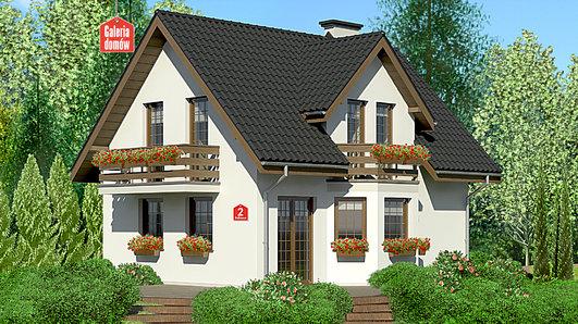 Projekt domu - Dom przy Kalinowej 2