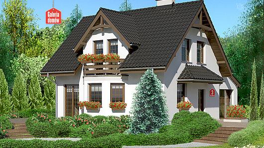 Projekt domu - Dom przy Kalinowej 3