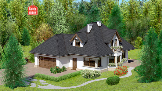 Projekt domu - Dom przy Sielskiej