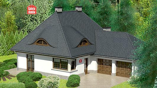 Projekt domu - Dom przy Malowniczej 2