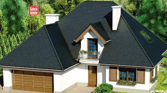 Projekt domu - Dom przy Ciepłej